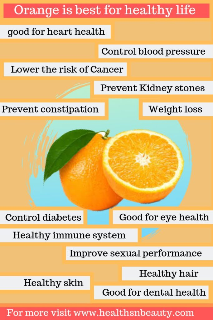 orange benefits